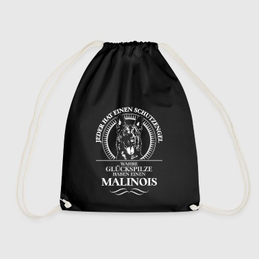MALINOIS Guardian Angel WILSIGNS - Drawstring Bag