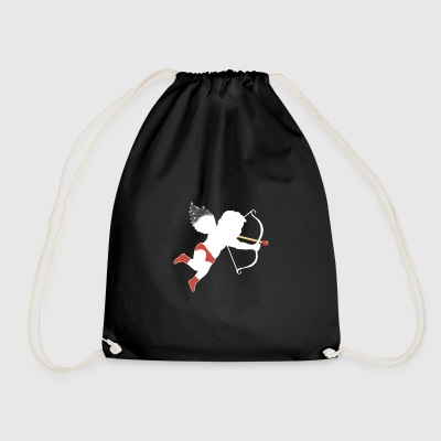 El Cupid Perfect Match white - Drawstring Bag