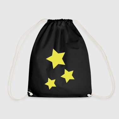 Star / 3stars - Drawstring Bag