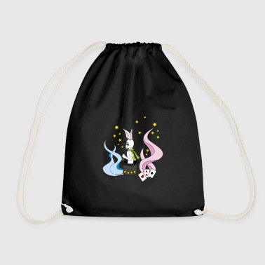 magic bunny - Drawstring Bag