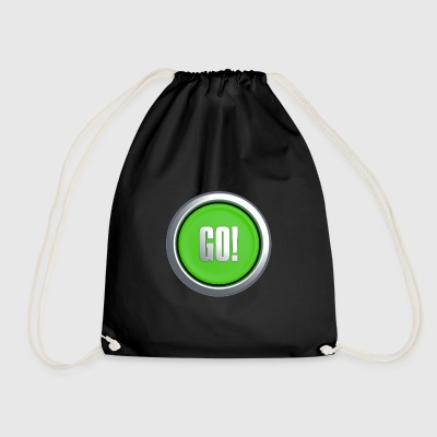 Go Button - Drawstring Bag
