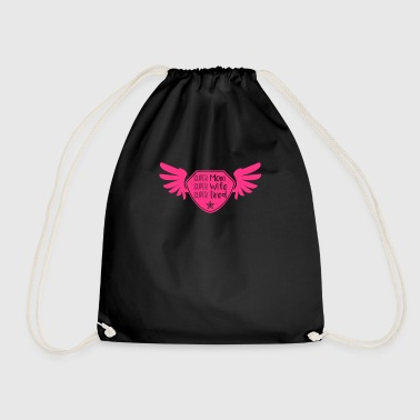 Super Mom - Super Wife - Super tired - Drawstring Bag