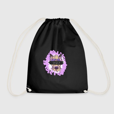 UGLY Coyote - Drawstring Bag