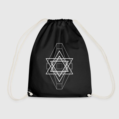 Star white - Drawstring Bag