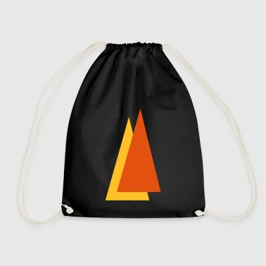 Triangle - Drawstring Bag