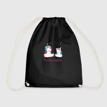 Unicorn little sister - Drawstring Bag