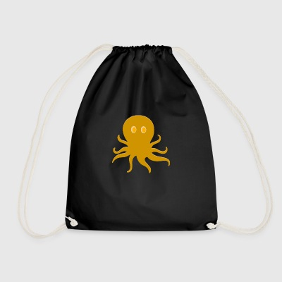 Pirate octopus - Drawstring Bag