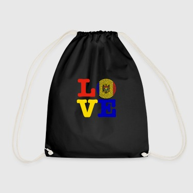 MOLDOVA HEART - Drawstring Bag