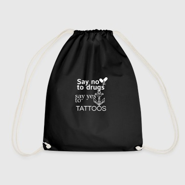 No drugs - Drawstring Bag