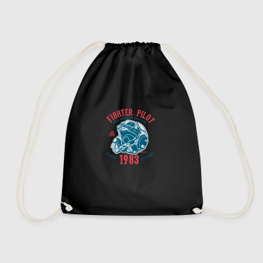 Fighter Pilot2 - Drawstring Bag