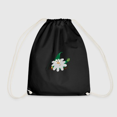 dwarf gnome - Drawstring Bag