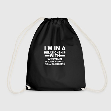 Relationship with WRITING - Drawstring Bag