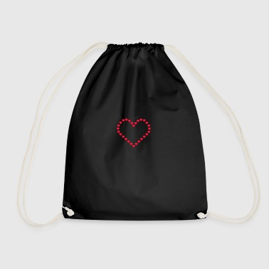 heart - Drawstring Bag