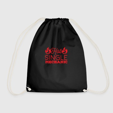 Mechanic: Hot Single Mechanic - Drawstring Bag