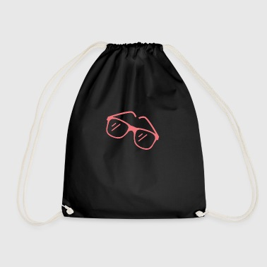 Red sunglasses - Drawstring Bag
