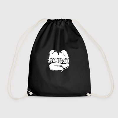 Silhouette Butterfly - Drawstring Bag