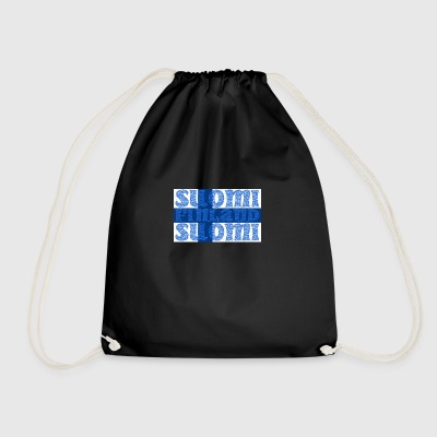 Finland Finland flag - Drawstring Bag