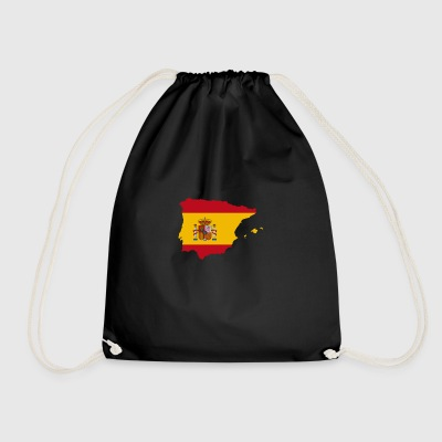Spanish Flag - Drawstring Bag