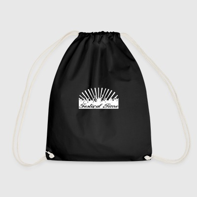 Festival Time Logo - Drawstring Bag
