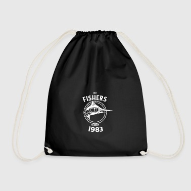 Present for fishers born in 1983 - Drawstring Bag