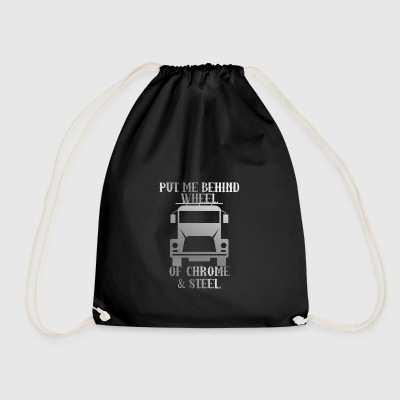 Trucker / lastbilchauffør: Put Me Bag Wheel Of Chrome - Sportstaske