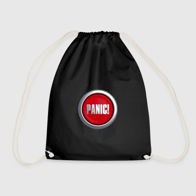 Panic Button - Drawstring Bag