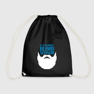Beard Season - beard - Drawstring Bag