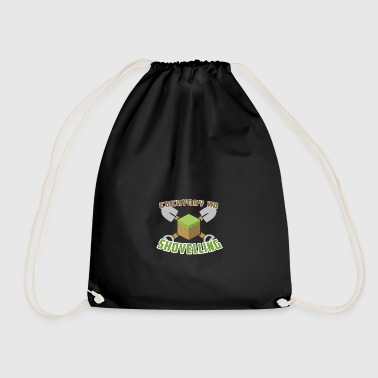 Everyday I'm Shovelling - Drawstring Bag