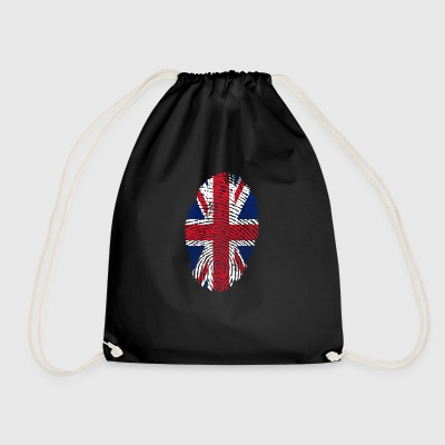 united kingdom ID - Drawstring Bag