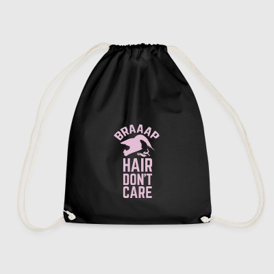 Dirt Bike Girl - Drawstring Bag