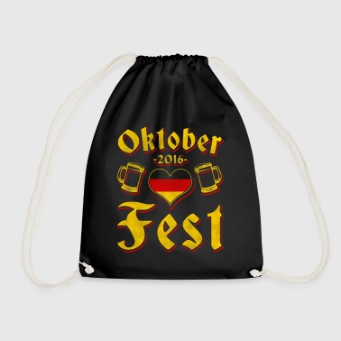 Oktoberfest 2016 clothing - Drawstring Bag