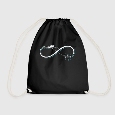 Rowing gift / design - Drawstring Bag