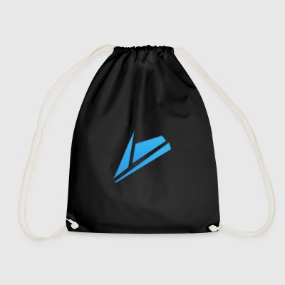 Blue Design - Drawstring Bag