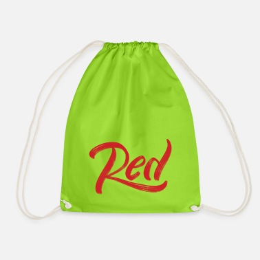 Red red - Drawstring Bag