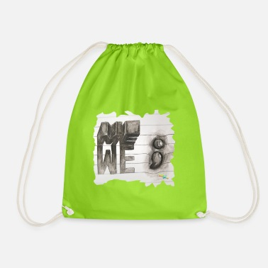 Depressed Me - Drawstring Bag