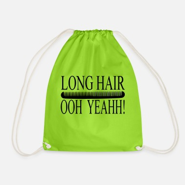 Long Hair Long hair - Drawstring Bag