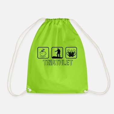 Kitzbühel Triathlete mountain hiking - Drawstring Bag