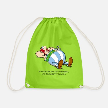 Asterix & Obelix - If You Can Not Do Best - Drawstring Bag