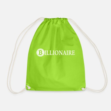 Billionaires Billionaire / Bitcoin Billionaire / Cryptocurrency - Drawstring Bag