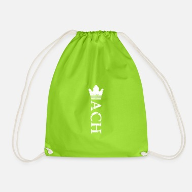 chess queen king crown - Drawstring Bag