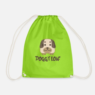Doggie School Doggy loaf - Drawstring Bag
