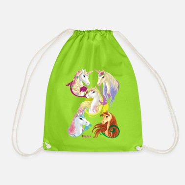 Schleich bayala Unicorns and Pegasus horses - Drawstring Bag