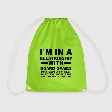 relationship with BOARD GAMES - Drawstring Bag