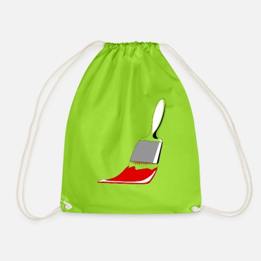 Idea Brush gift idea idea idea - Drawstring Bag