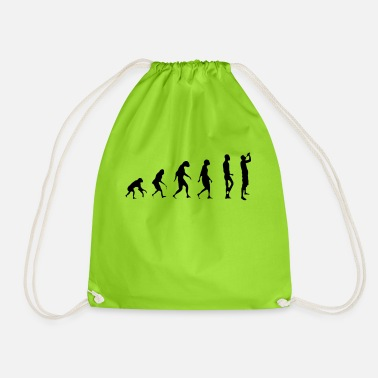 Evolution evolution - Drawstring Bag