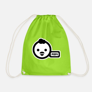 Potty potty-duck - Drawstring Bag
