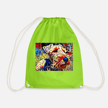 Summer Welshie - Drawstring Bag