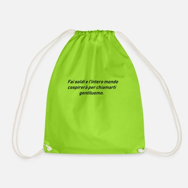 Wealth WEALTH - Drawstring Bag