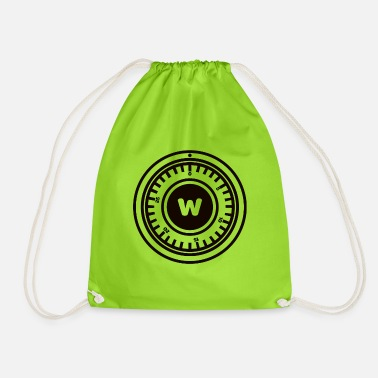 Safe lock - Drawstring Bag