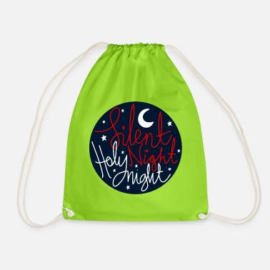 Typo Collection V2 silent Night Holy Night - Drawstring Bag
